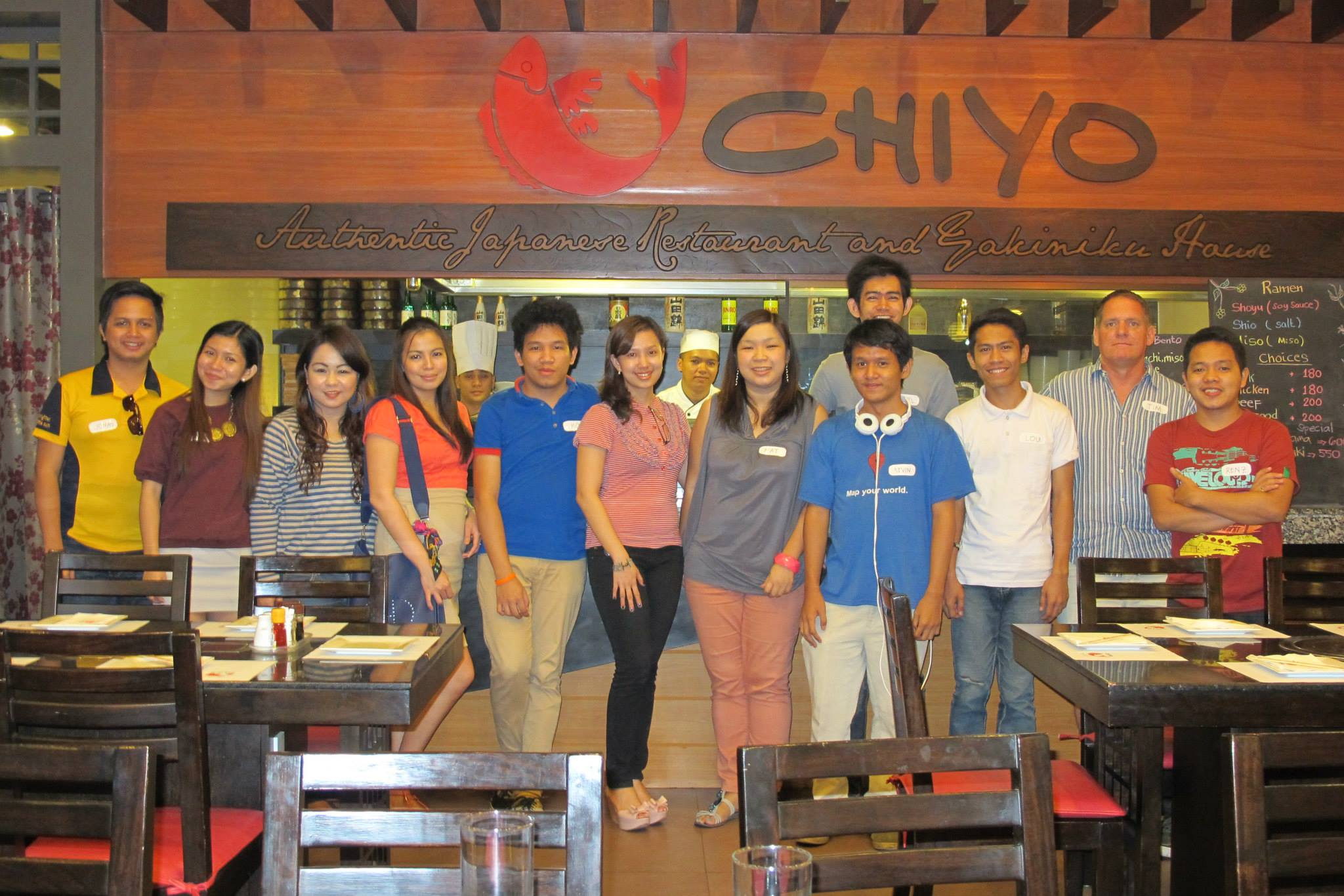 davao event coordinator - chiyo PR