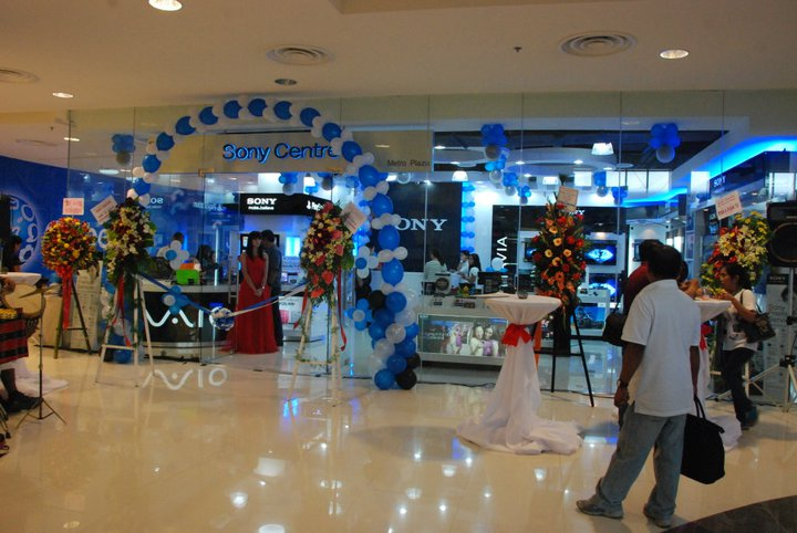 mall opening sony abreeza by PREP