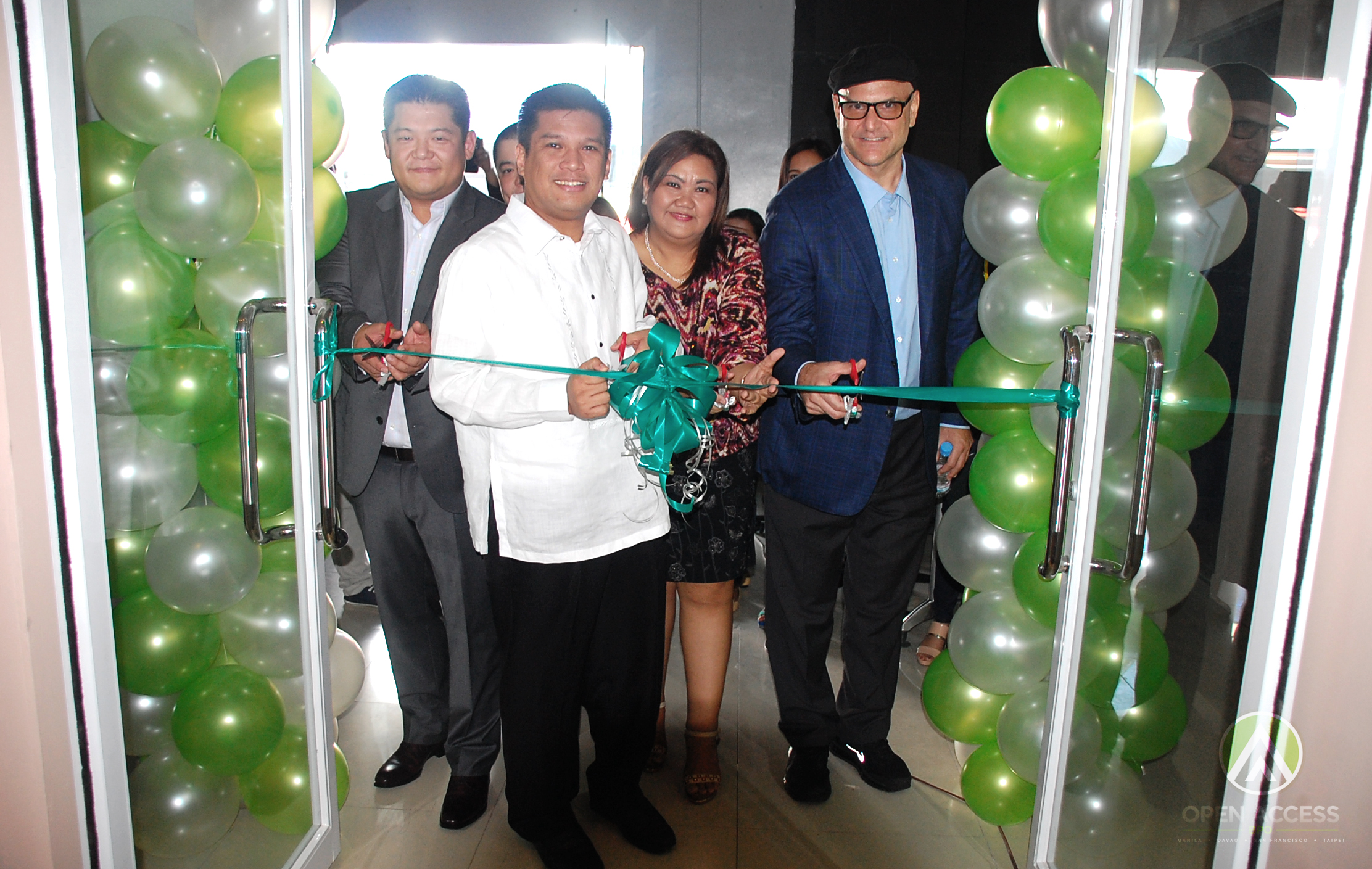 Open Access BPO Davao Ribbon Cutting_01