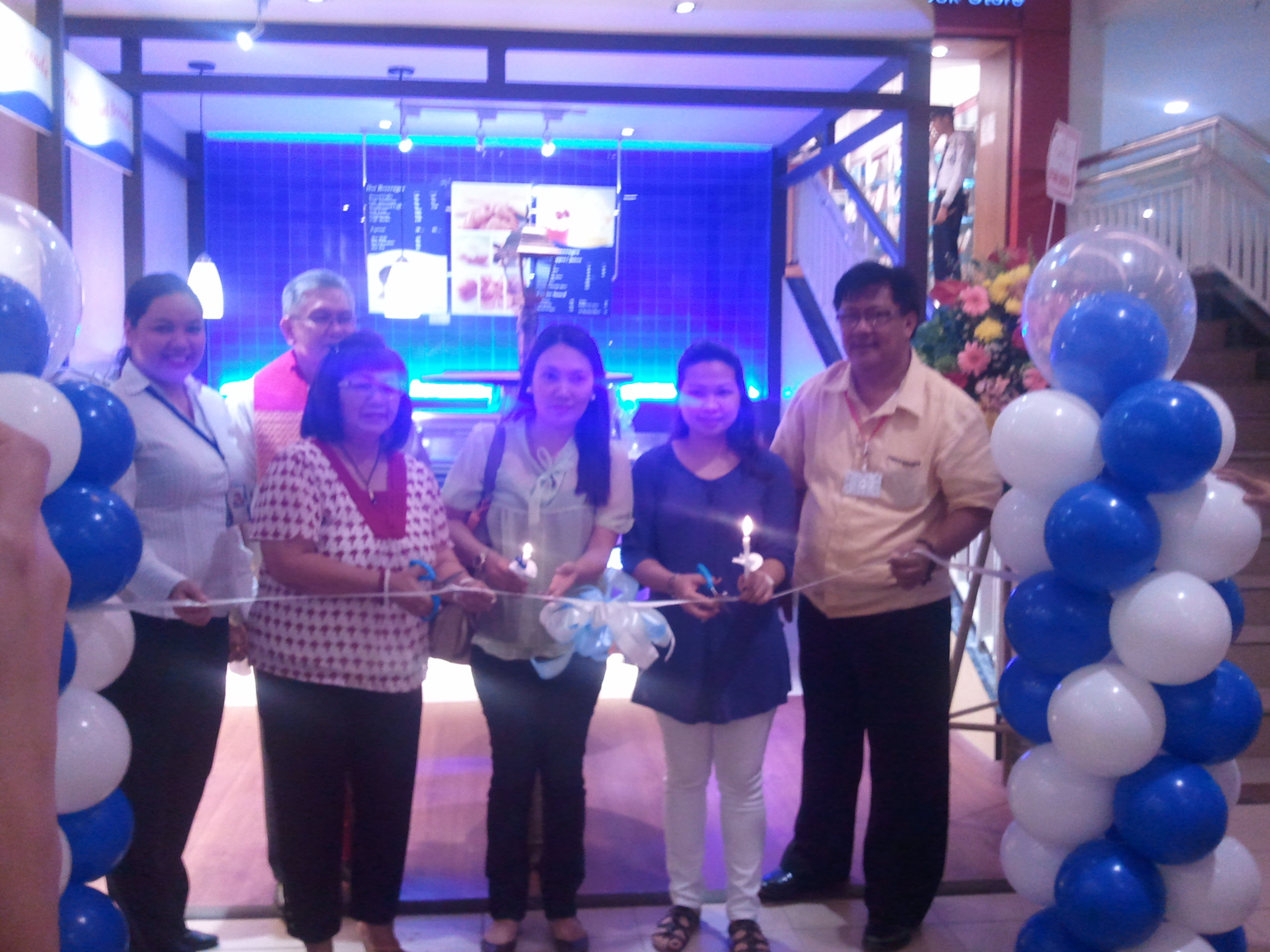 cafe france branch opening in Davao city