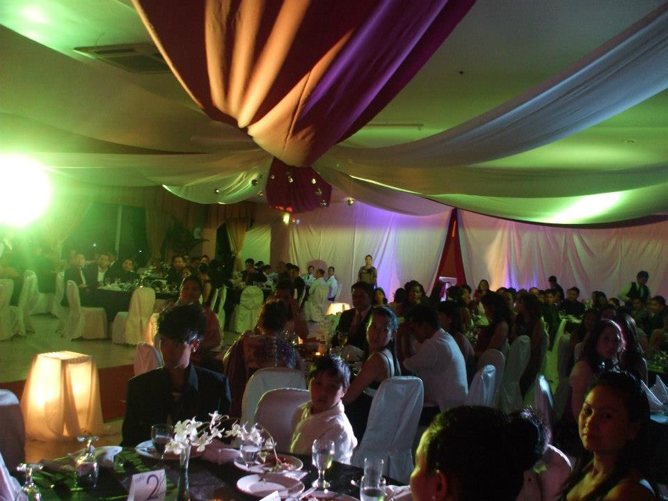 The fab decor by PREP (www.prepdavao.com) and the equally fabulous crowd at the induction program.