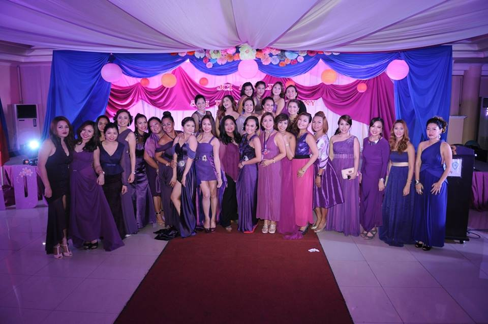The ladies of JCI Duwaling