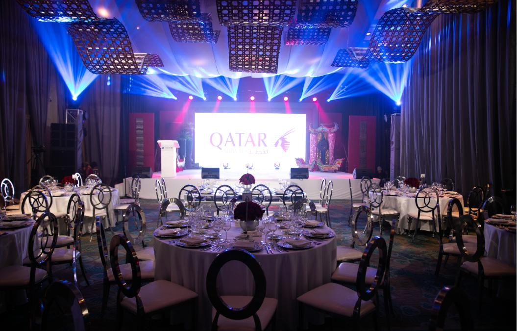 Davao Event Coordinator Diaries: Qatar Airways Davao-Doha Gala Night