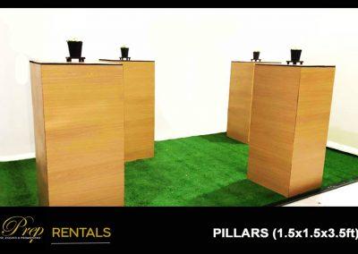 RENTALS - PILLARS